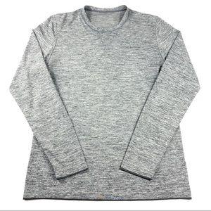 Lululemon Metal Vent Tech Long Sleeve Shirt M Gray